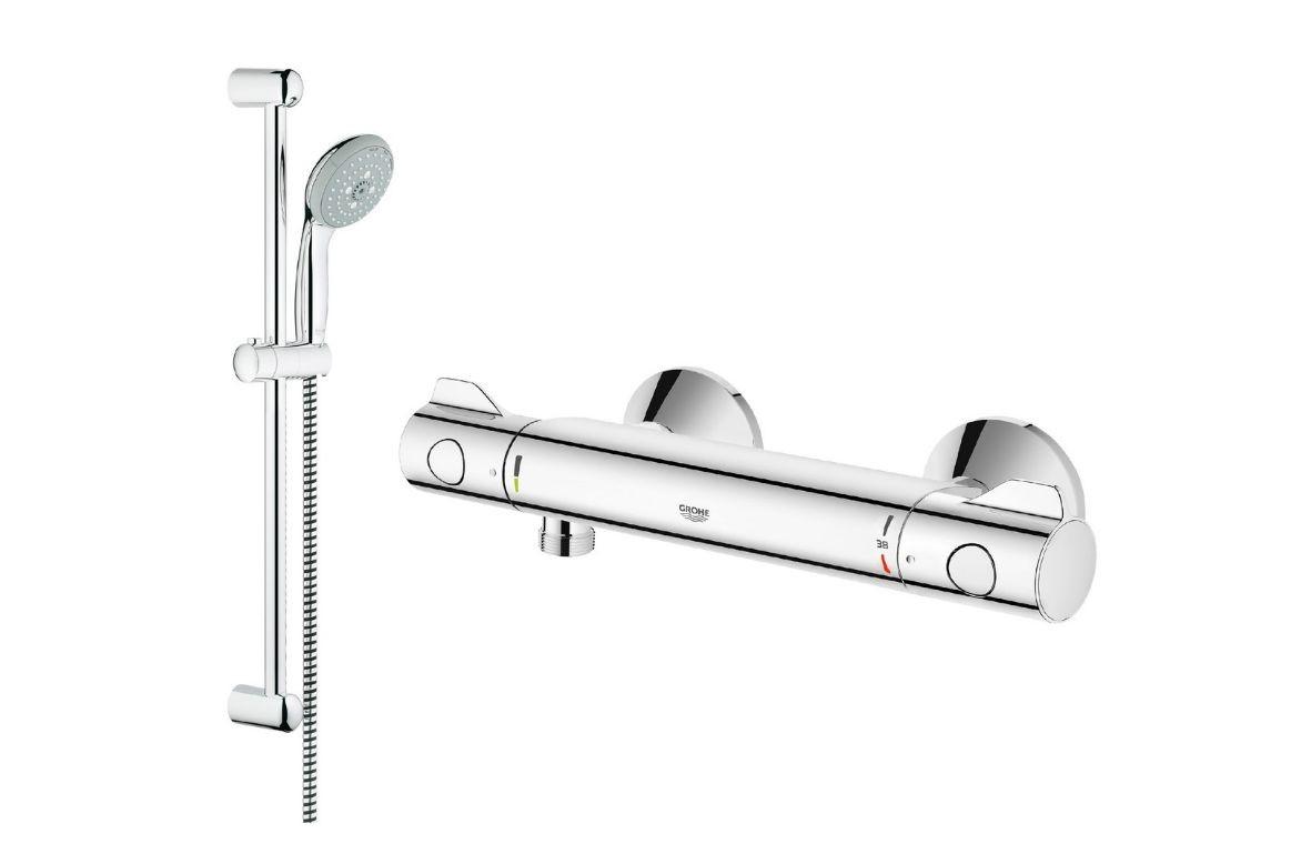 Sprchový set termo baterie + příslušenství, Grohe