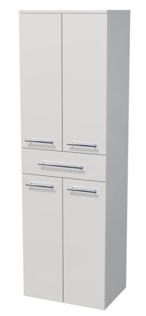 Vysoká skříňka 4 dveře, 1 zásuvka 50x35x161,8 cm