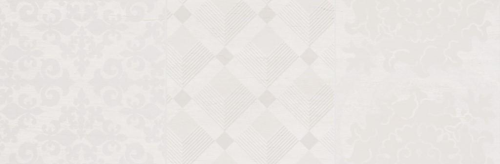 Dekor White Noveau Mix C 20x60cm, mat