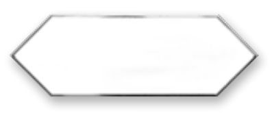 Obklad Cupidón Silver White Line 10x30 cm