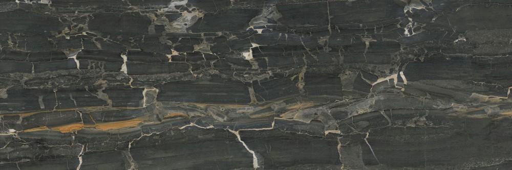 Obklad Black 30x90 cm, lesk
