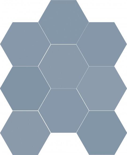 Obklad/dlažba Chicago Exa Ocean 21,5x25 cm, mat