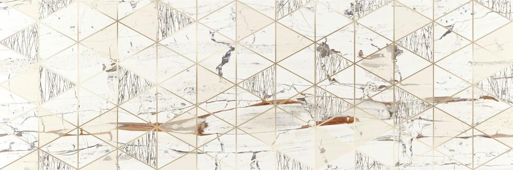 Obklad Lionela White 30x90 cm, lesk