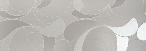 Dekor Lacrima Grigio 35x100x1,05cm, lesklý, rektifikovaný, série Acqua