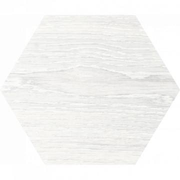 Dlažba Yosemite Hexagon Blanco 20x24 cm, mat