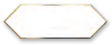 Obklad Cupidón Gold White Line 10x30 cm