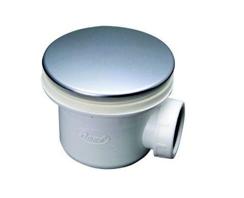 Vaničkový sifon Standard, průměr 90mm, odtok 30 litrů za minutu, víko pokovený plast, série DN90