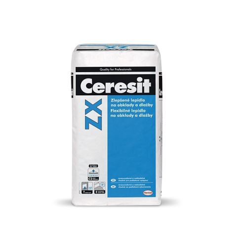 Zlepšené lepidlo Ceresit ZX na obklady a dlažbu, 25 kg
