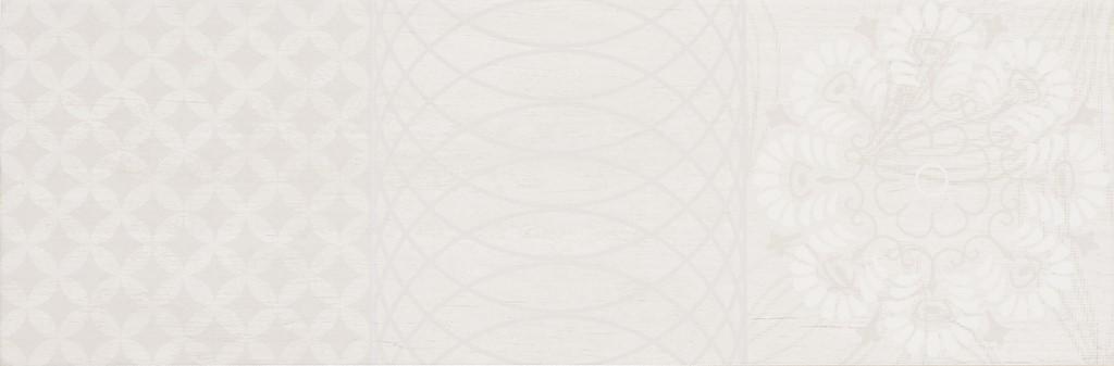 Dekor White Noveau Mix B 20x60cm, mat