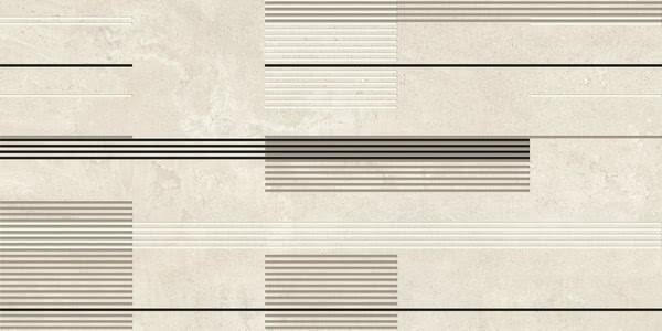 Dekor Urban Stripes Lime 50x100, rektifikovaný