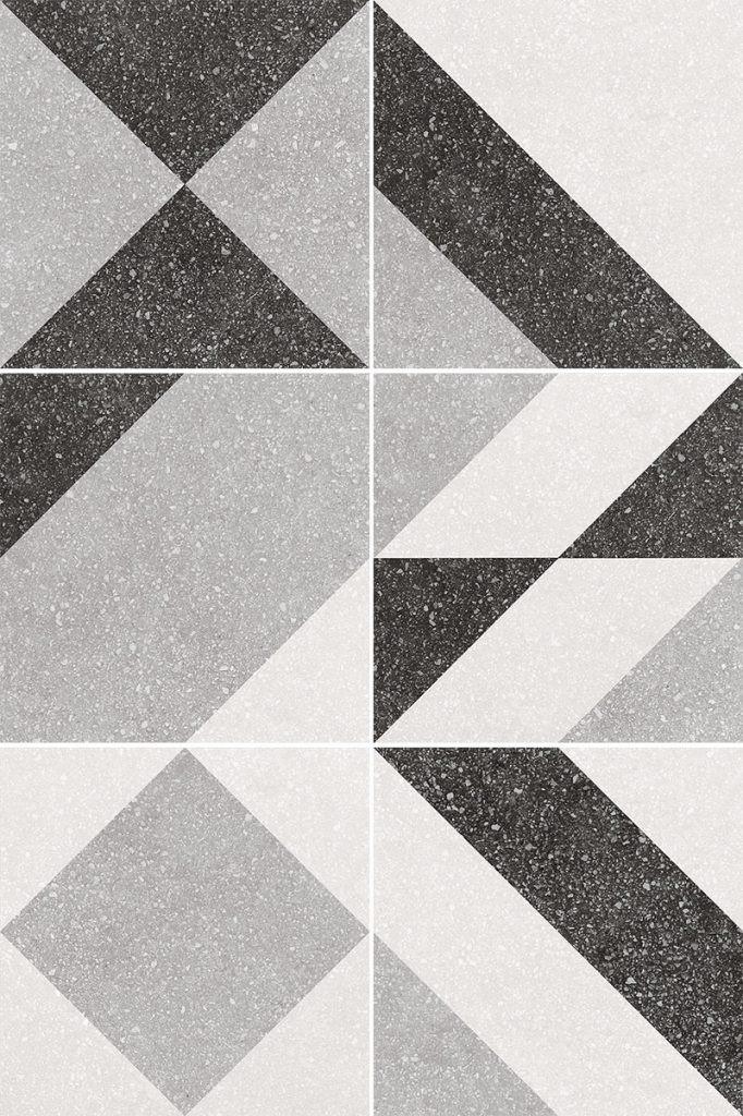 Obklad/dlažba Elements Grey 20x20 cm, matt