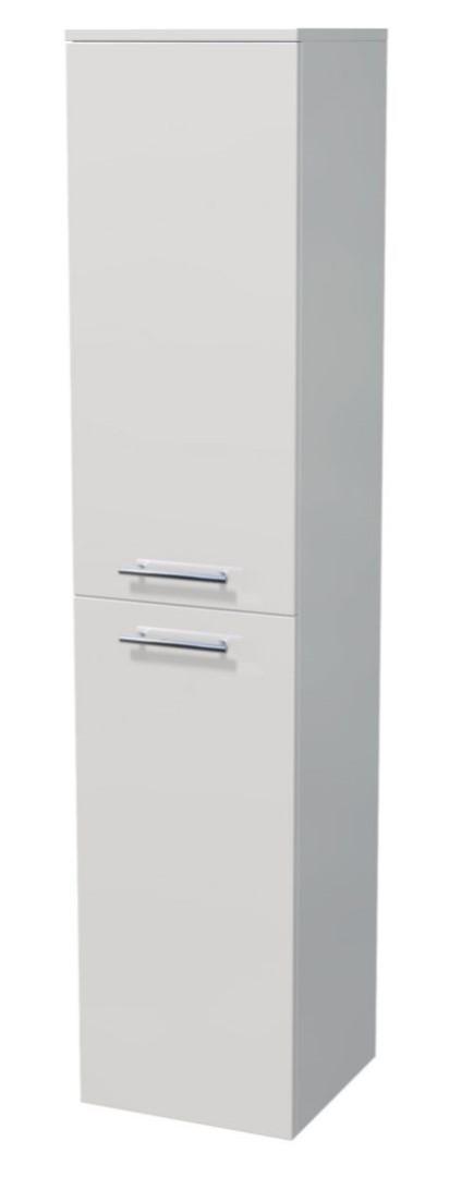 Vysoká skříňka 2 dveře, koš 35x35x161,8 cm