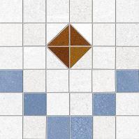 Obklad/dlažba Tabarly-R 2 Azul 20x20 cm, matt