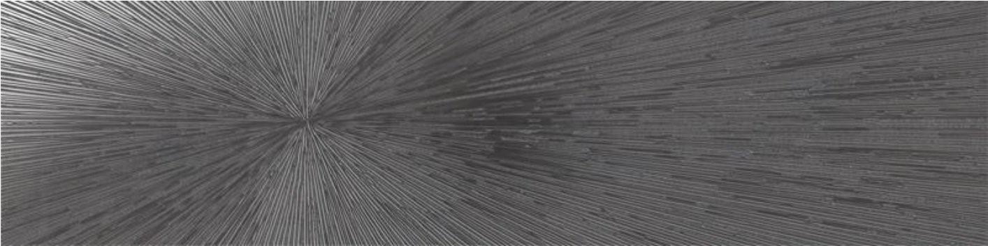 Dekor Impact Steel, 30x120 cm, matný, rektifikovaný
