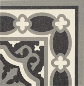 Obklad/dlažba Esquina Black 20x20 cm, matt