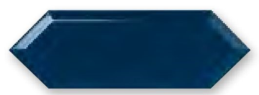 Obklad Cupidón Marino Brillo Bisel, 10x30 cm, lesk s fazetou