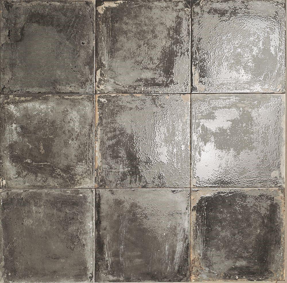Obklad/dlažba Venezzia Nero 20x20 cm, pololesk