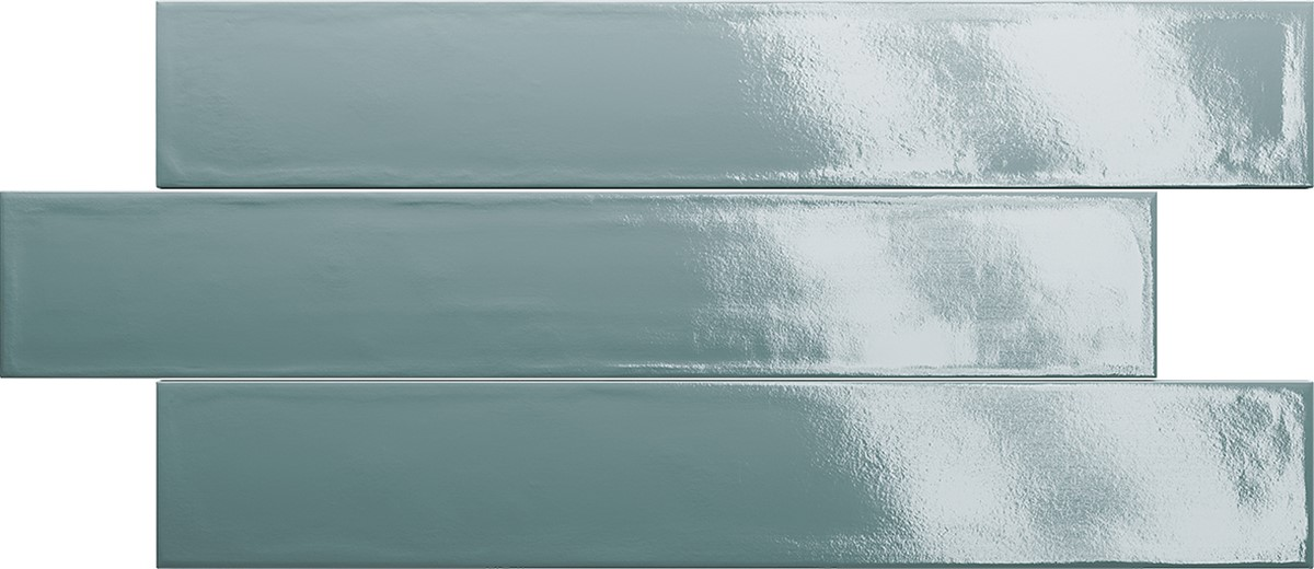 Obklad Petrol 3,1x37 cm