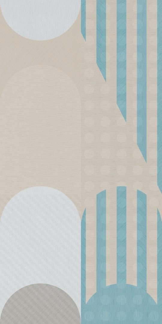 Obklad Shapes D 50x100 cm, mat