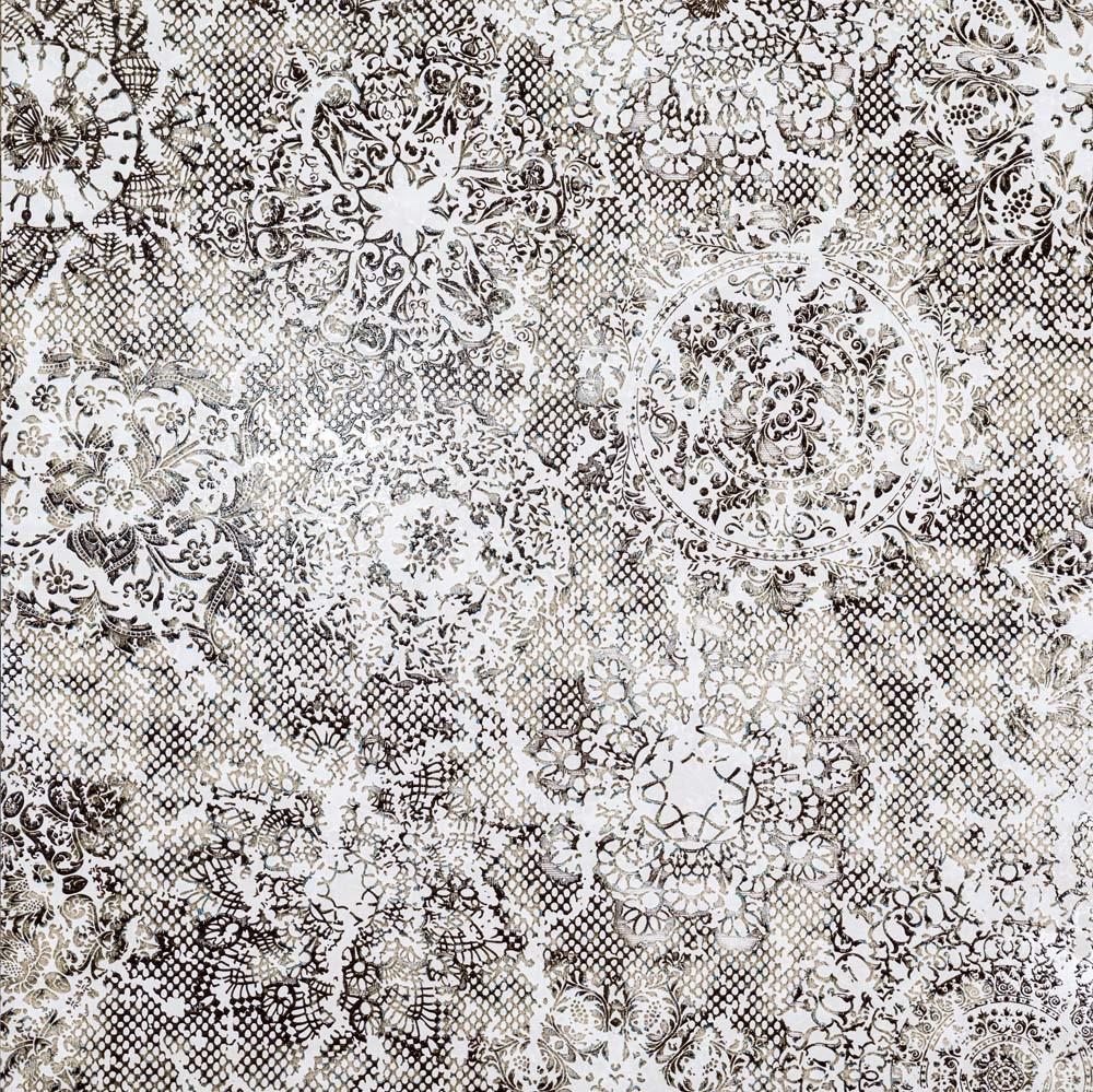 Obklad/dlažba White 99,55x99,55 cm, pololesk