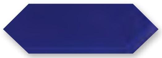 Obklad Cupidón Azul Brillo Liso, 10x30 cm, lesk