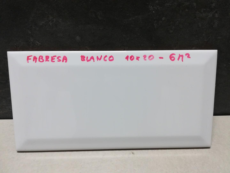 Obklad Fabresa Blanco 10x20 cm