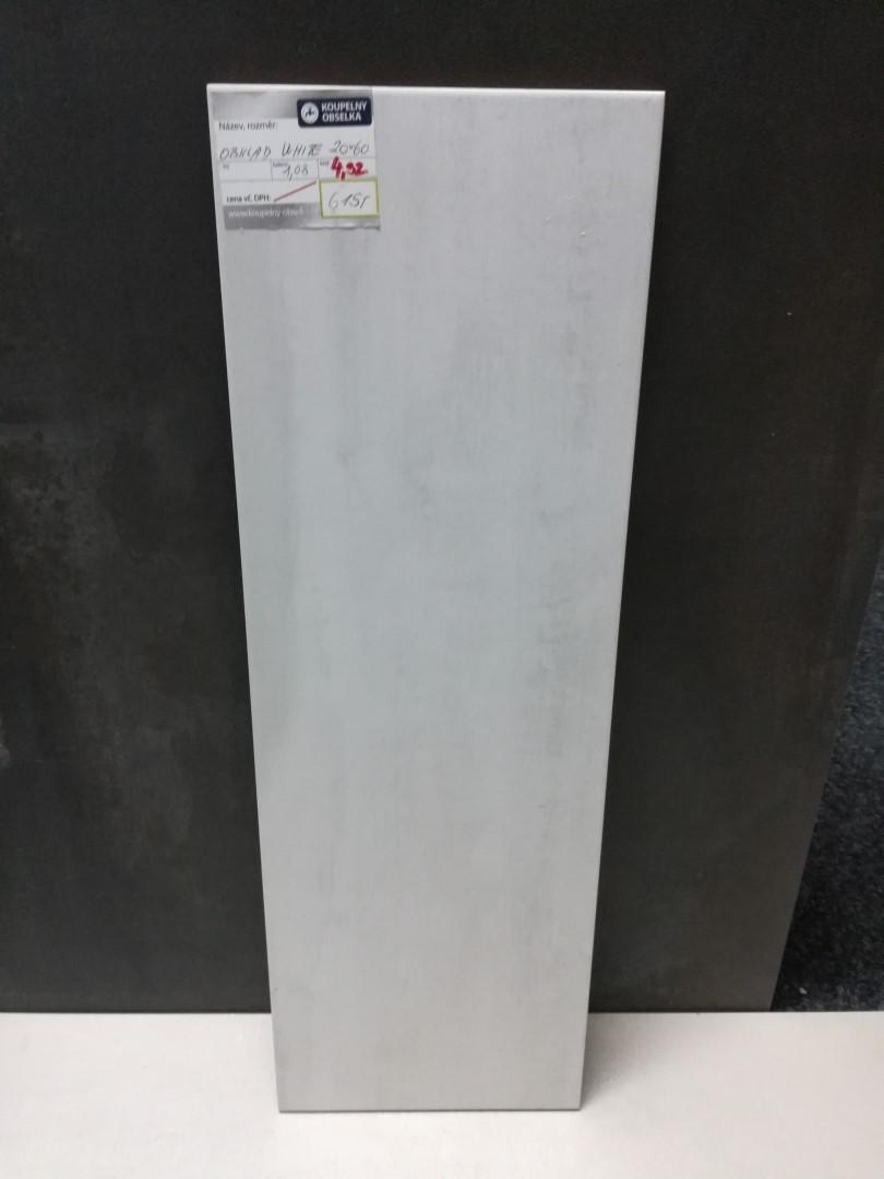Obklad Soul White 20x60 cm