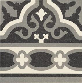 Obklad/dlažba Canefa Black 20x20 cm, matt