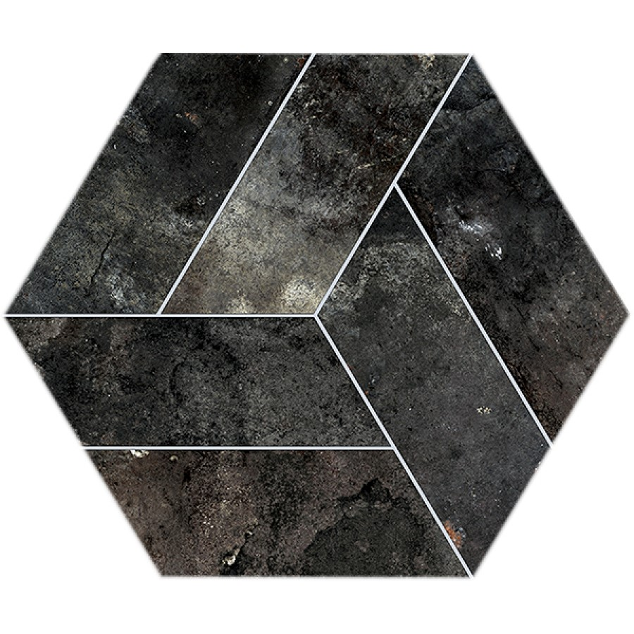 Dlažba Basalt Grafito 20x24 cm, mat