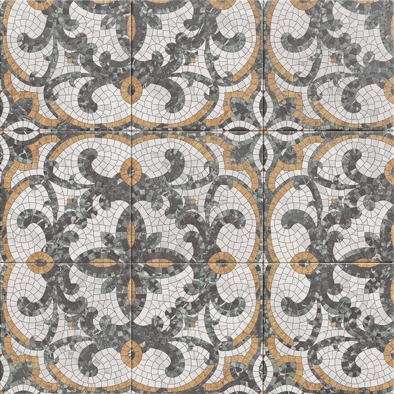 Obklad/dlažba Versailes Mosaic 20x20 cm, mat