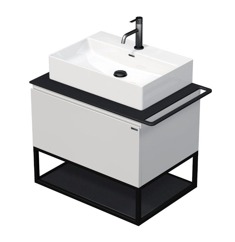 Skříňka 70x50,5x50 cm s umyvadlem 60x42x13 cm a s 1 zásuvkou