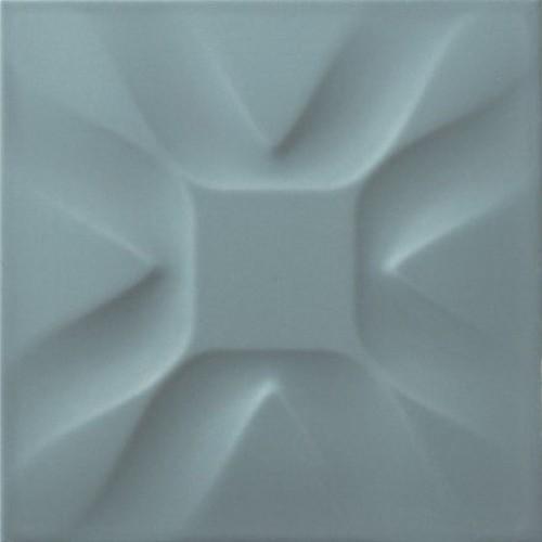 Dekor Estoril Turquesa 25x25 cm, lesk