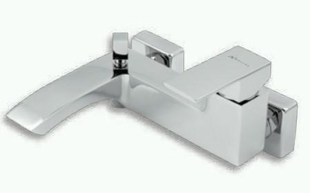 Vanová nástěnná baterie EDGE, 150 mm, chrom, série Nobless Edge