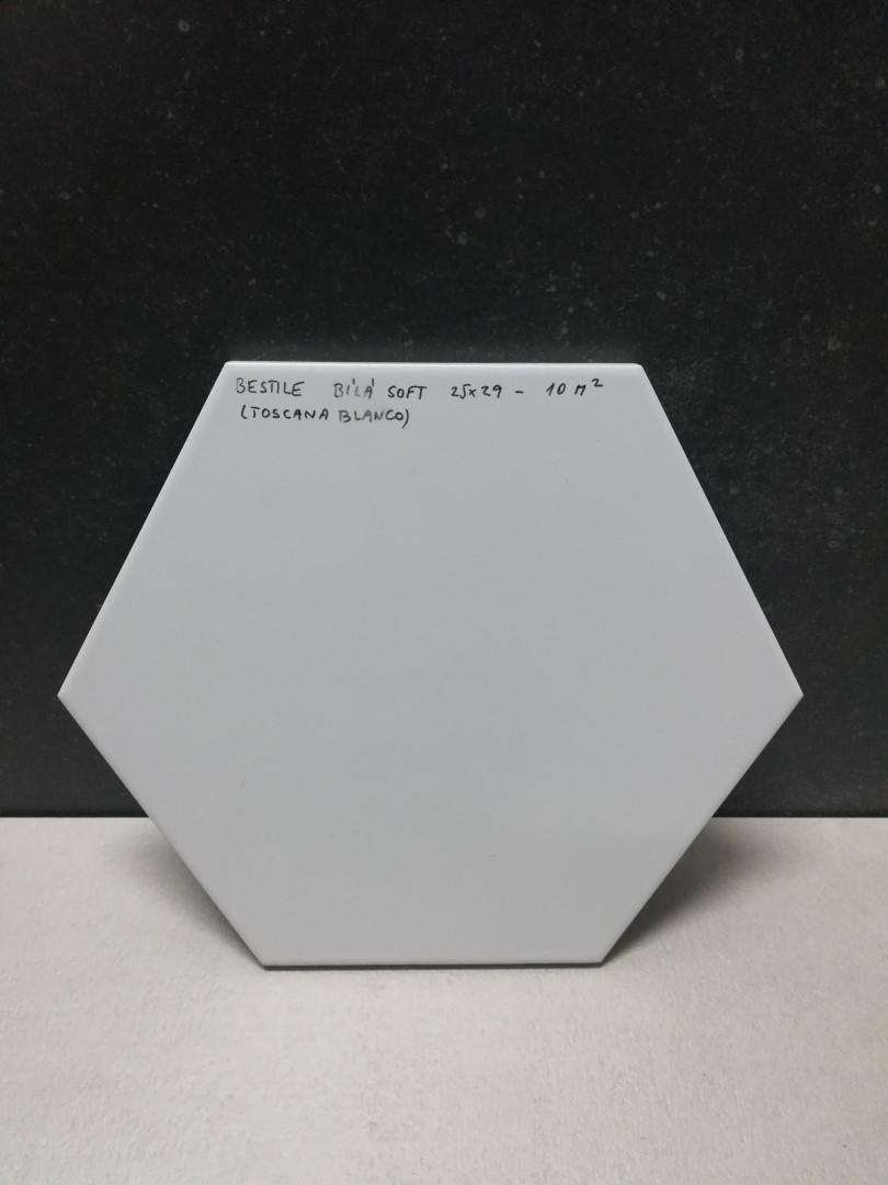 Obklad Blanco 25,8x29cm, hexagon