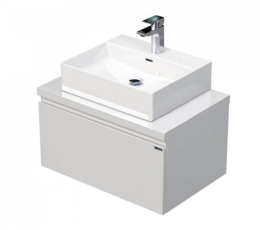 Skříňka 60x46x51,6 cm s umyvadlem na desku 50x42x13 cm a s 1 zásuvkou