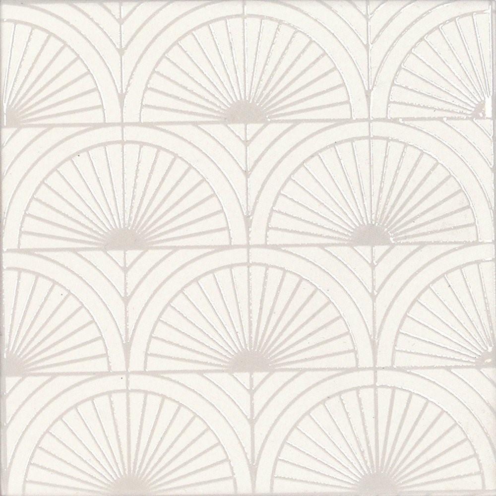 Obklad White Swing Glam 14,8x14,8 cm, mat
