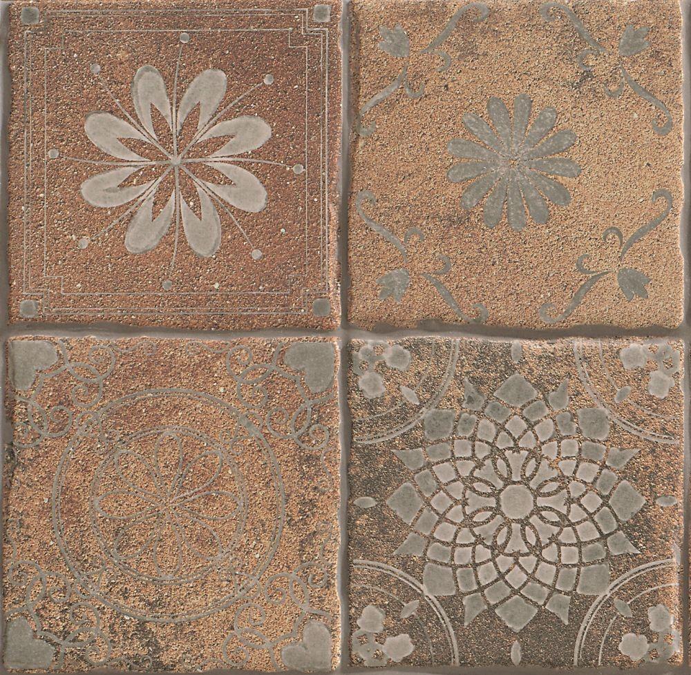 Dlažba Temple Natural 22,5x22,5 cm, mat