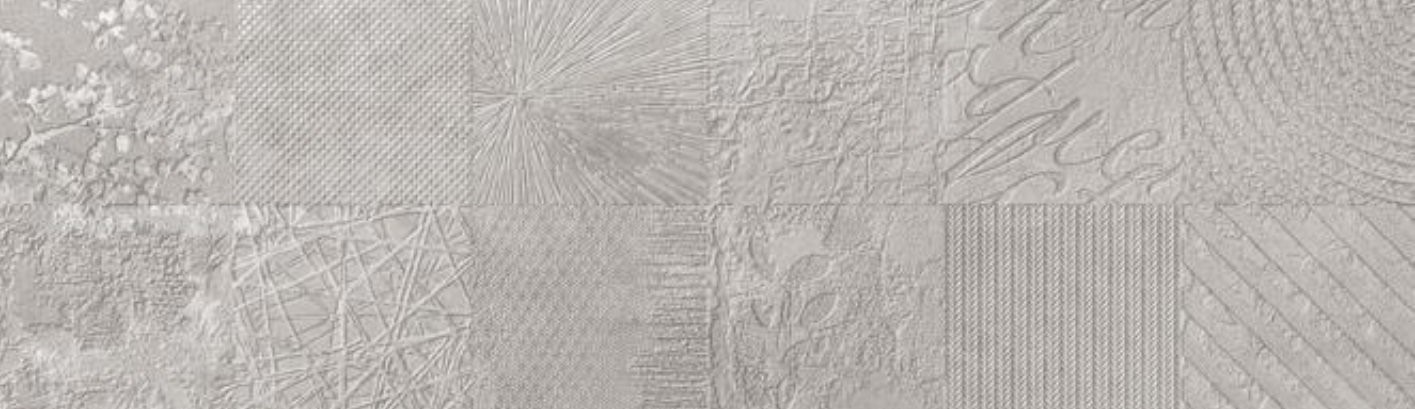 Dekor Atelier Grey, 29x100 cm, matný, rektifikovaný