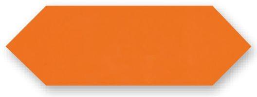 Obklad Cupidón Naranja Brillo Liso, 10x30 cm, lesk