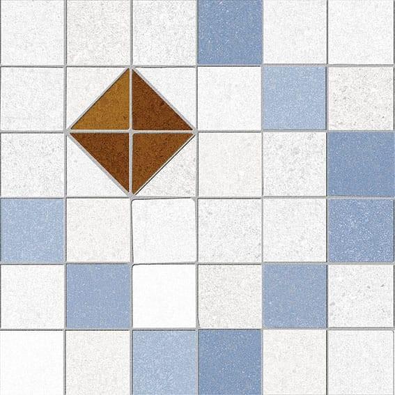 Obklad/dlažba Tabarky-R 3 Azul 20x20 cm, matt