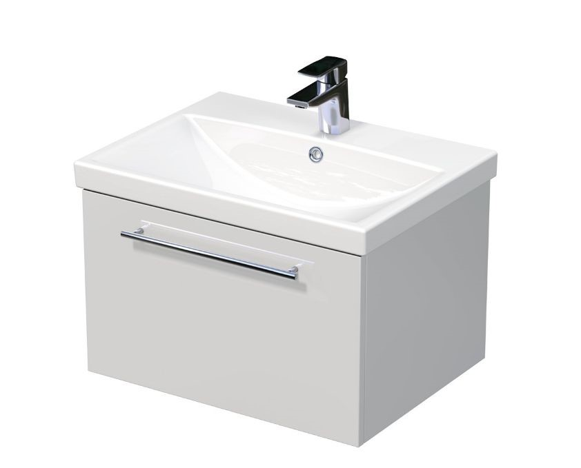 Skříňka s umyvadlem ELITE a s 1 zásuvkou 60x45x41 cm