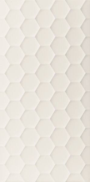 Obklad White Hexagon 40x80 cm, mat