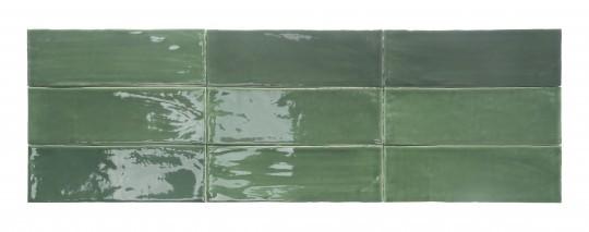 Obklad Tabarca Verde 7,5x23 cm, lesk