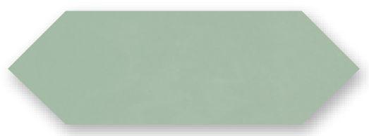 Obklad Cupidón Light Green Brillo Liso, 10x30 cm, lesk