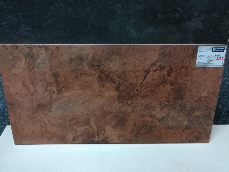 Obklad/dlažba Raja red 30x60cm, kalibrovaná