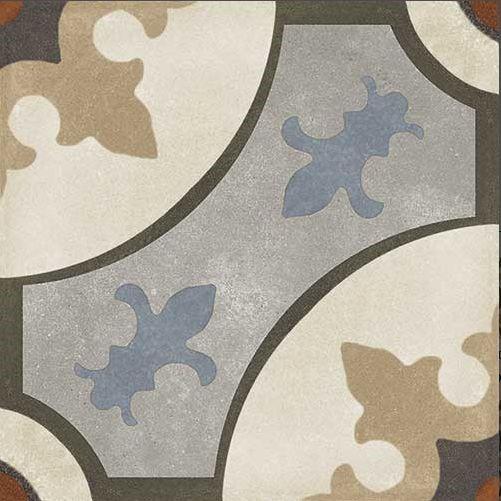 Decoro P. Ducale Sogg. C, 20x20cm, mat