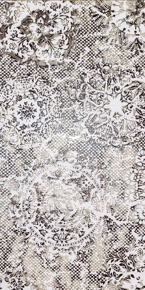 Obklad/dlažba White 49,75x99,55 cm, pololesk