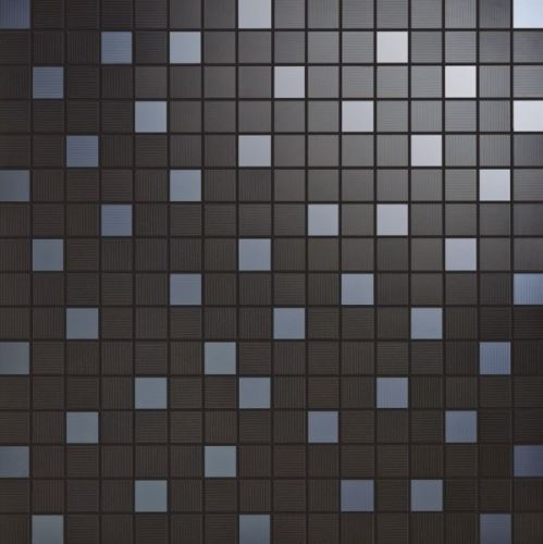 Mosaic Nero, 35x35x1,05cm (1,9x1,9cm) lesk, série Acqua