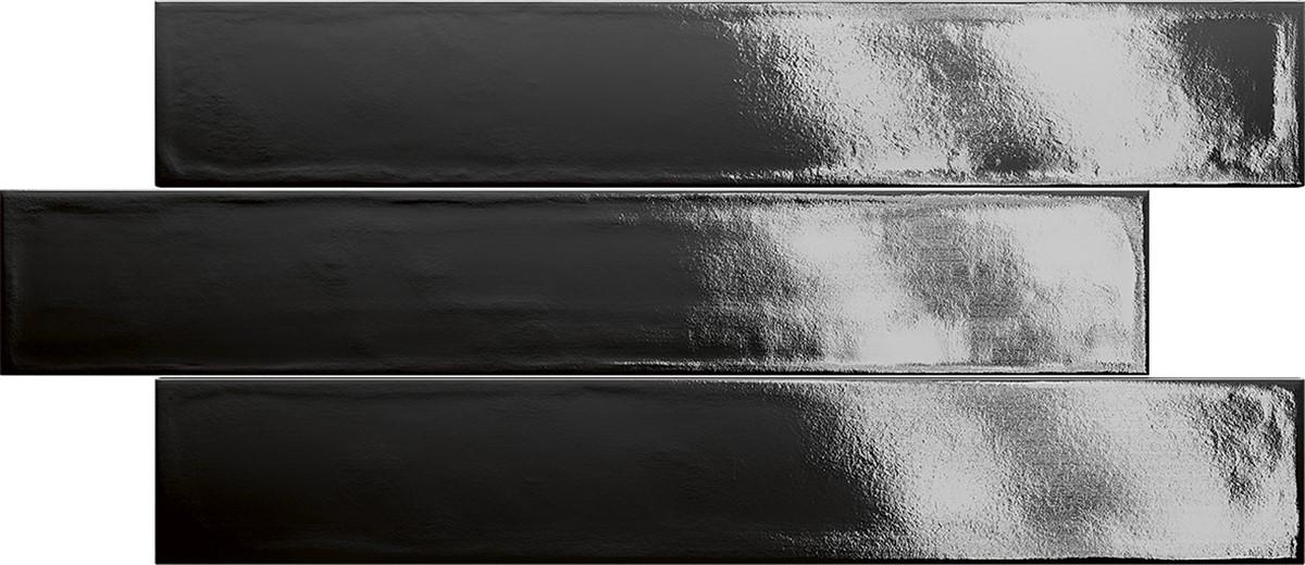 Obklad Black 3,1x37 cm