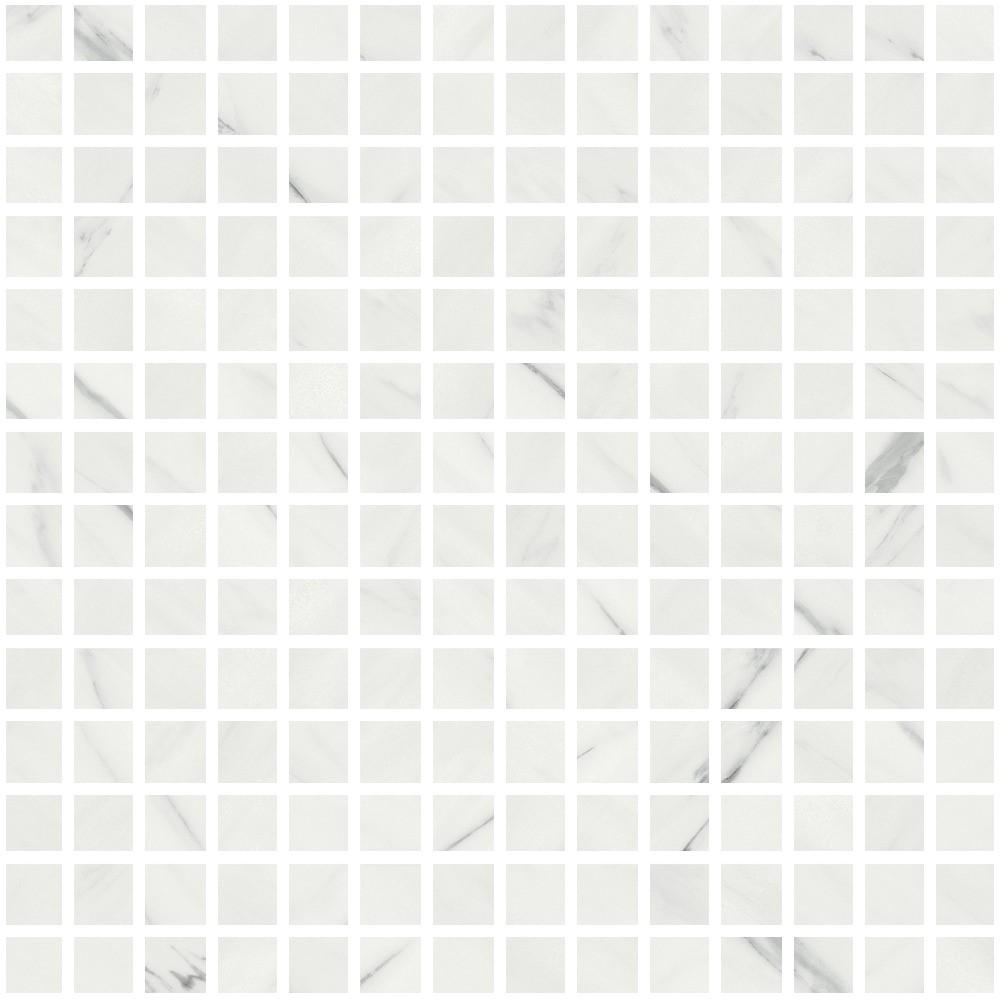 Mozaika Calacatta 30x30 cm, rect., lesk